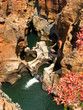 Felsformation Three Rondavels Bourke's Luck Potholes