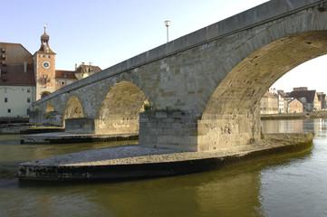 Regensburg und Steinerne Brücke