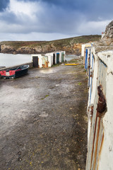 Old fisherman cabins