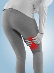 Human Calf pain.