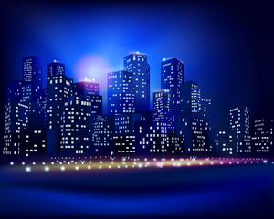 City skyline. Vector illustration