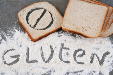 Pain de mie avec gluten