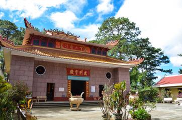 Tau pagoda in Da lat, Vietnam
