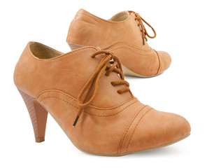 female leather shoes
