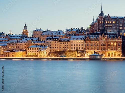Zdjęcia Stockholm Sodermalm and Riddarfjarden.