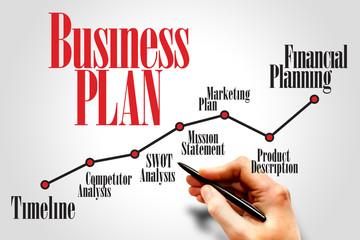 Business plan timeline, business concept