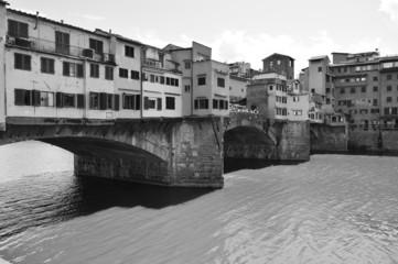 ponte vecchio a firenze toscana italia