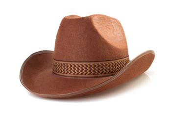 cowboy hat  on white background