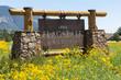 Entering sign Flagstaff - 75456078