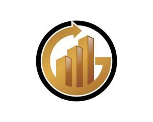 Chart Bar Logo v.11