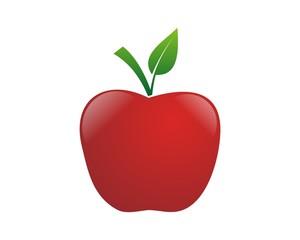 apple logo template