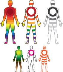 Human body resonanse vector