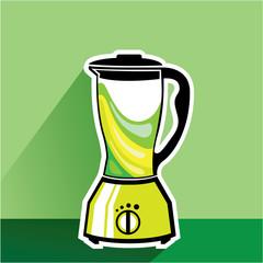 Green Blender vector