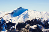 Naklejka Berg Ifen - Österreich Allgäuer Alpen