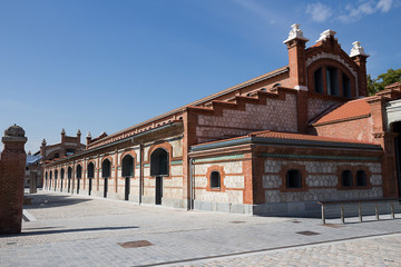 Madrid - The Matadero Pavilion, Arganzuela district