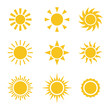 Sun Color Icons
