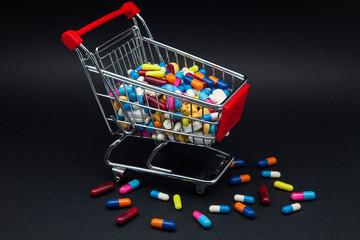 comercio de píldoras y capsulas