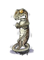 Shiver Lizard cold