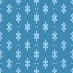Ornamental seamless pattern damask arabesque elements texture ba