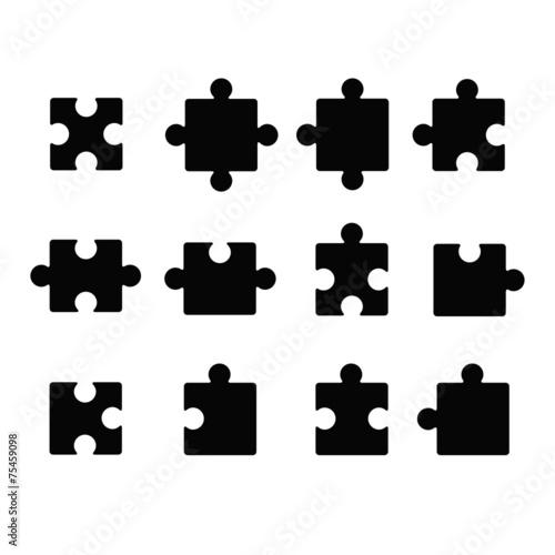 Jigsaw icon - 75459098