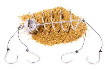 Spring fishing feeder GROUND-BAIT