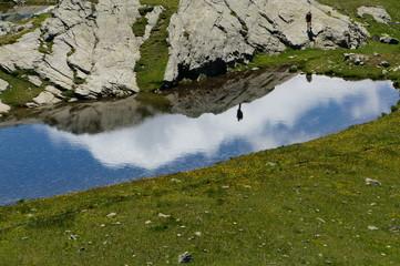 Reflet Glacier des Evettes