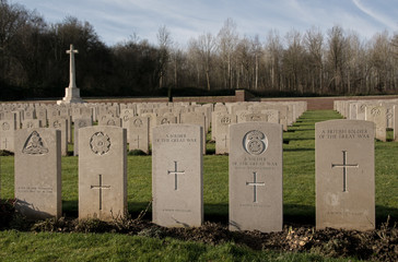 Military Grave Stones in France (WW1)