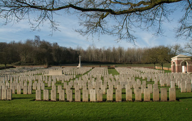 Military Cemetary in France (WW1)