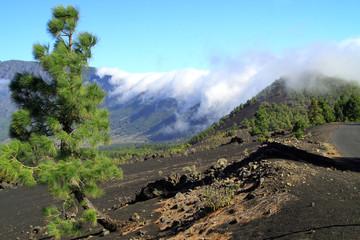 National Park Caldera de Taburiente in La Palma