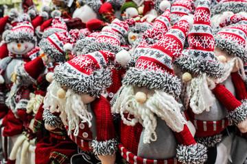 Christmas toys at christmas market