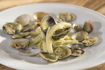 macaroni at the clams