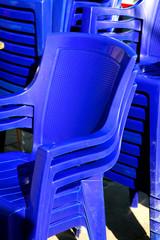 sedie blu