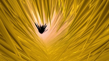 Abstract background in yellow color