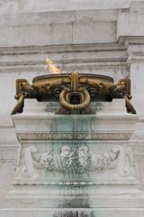 Fiamma all'Altare della Patria