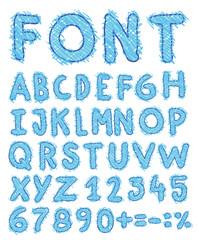 sketch alphabet Hand drawn.
