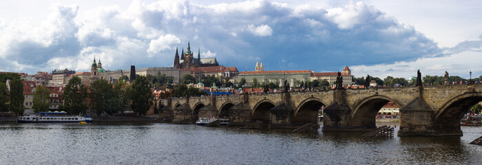 Prague, CZ - Aug 30, 2014: Prague Castle