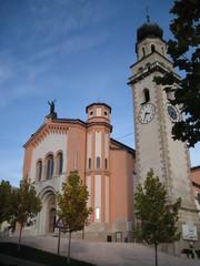 La chiesa parrocchiale di Levico Terme