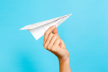 Paper airplane concept