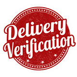 Delivery verification stamp poster
