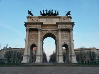 Arco della Pace. Milan. Itali
