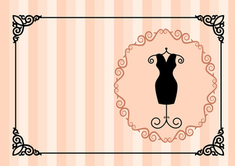 visiting card a the atelier apparel