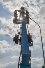 Repair street lighting