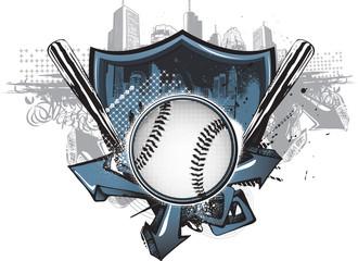 Street Baseball Shield