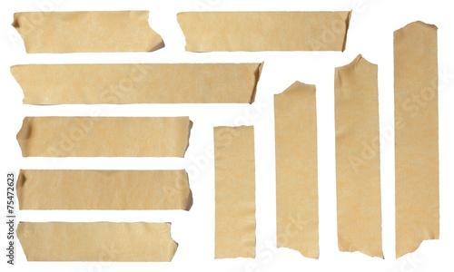 Leinwanddruck Bild Ripped Masking Tape