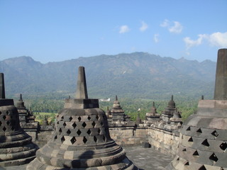 The Stupa at Borobudur