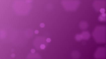 Purple romantic background with hexagons