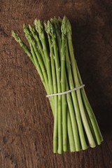 young asparagus spears