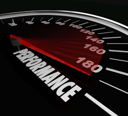 Performance Speedometer Job Task Achieved Accomplished