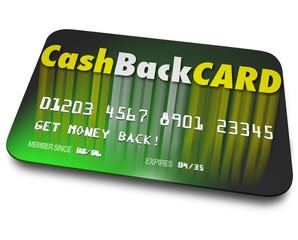 Cash Back Credit Card Incentives Reward Charge Money