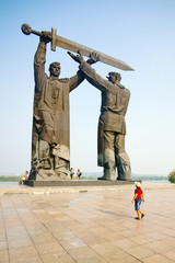 Monument in Magnitogorsk